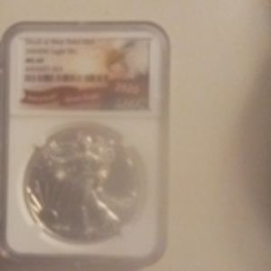 2020 (W) NGC Graded MS 69 American Silver Eagle